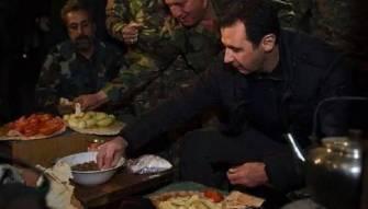الرئيس الاسد يرفض ارتداء درعاً واقياً للرصاص
