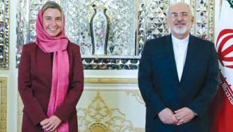 موغيريني: لفتح صفحة جديدة مع ايران<br /> وزير خارجية فرنسا في طهران اليوم